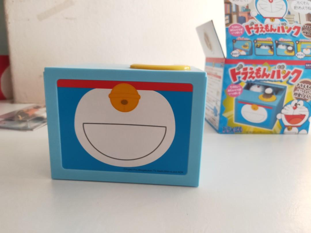 Cute Doraemon coin bank electronic