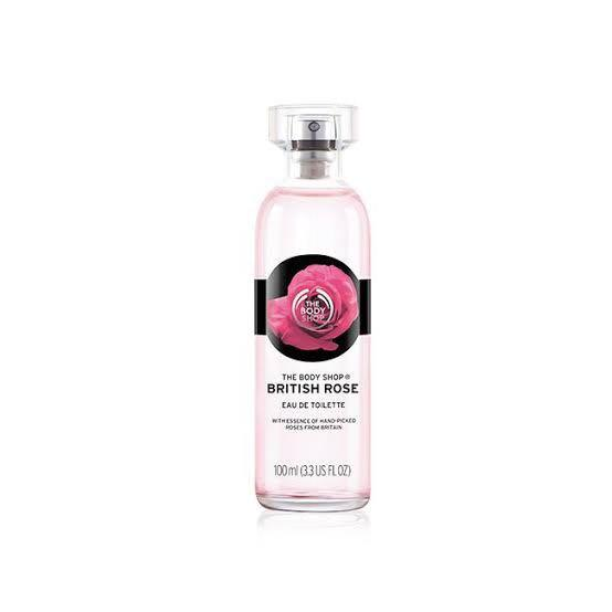 EDT british rose the body shop