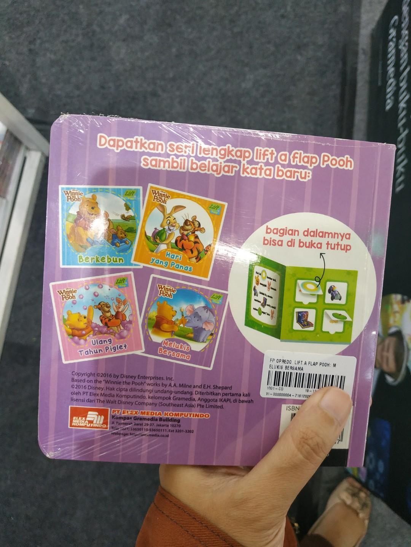Lift a Flap Winnie The Pooh Boardbook