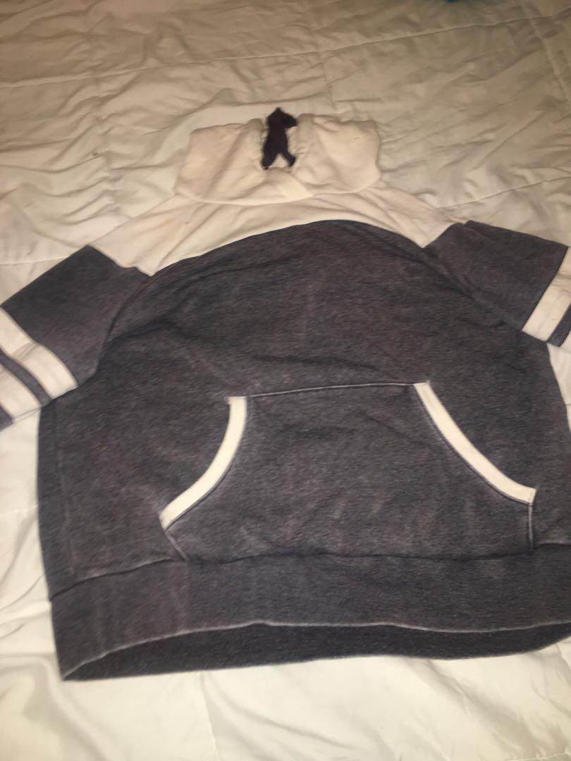 Grey and white forever 21 sweater