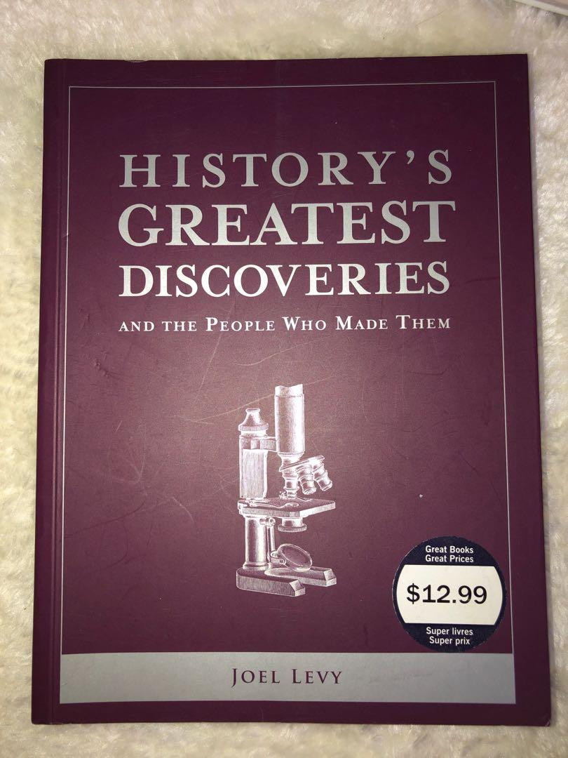 History's Greatest Discoveries By Joel Levy