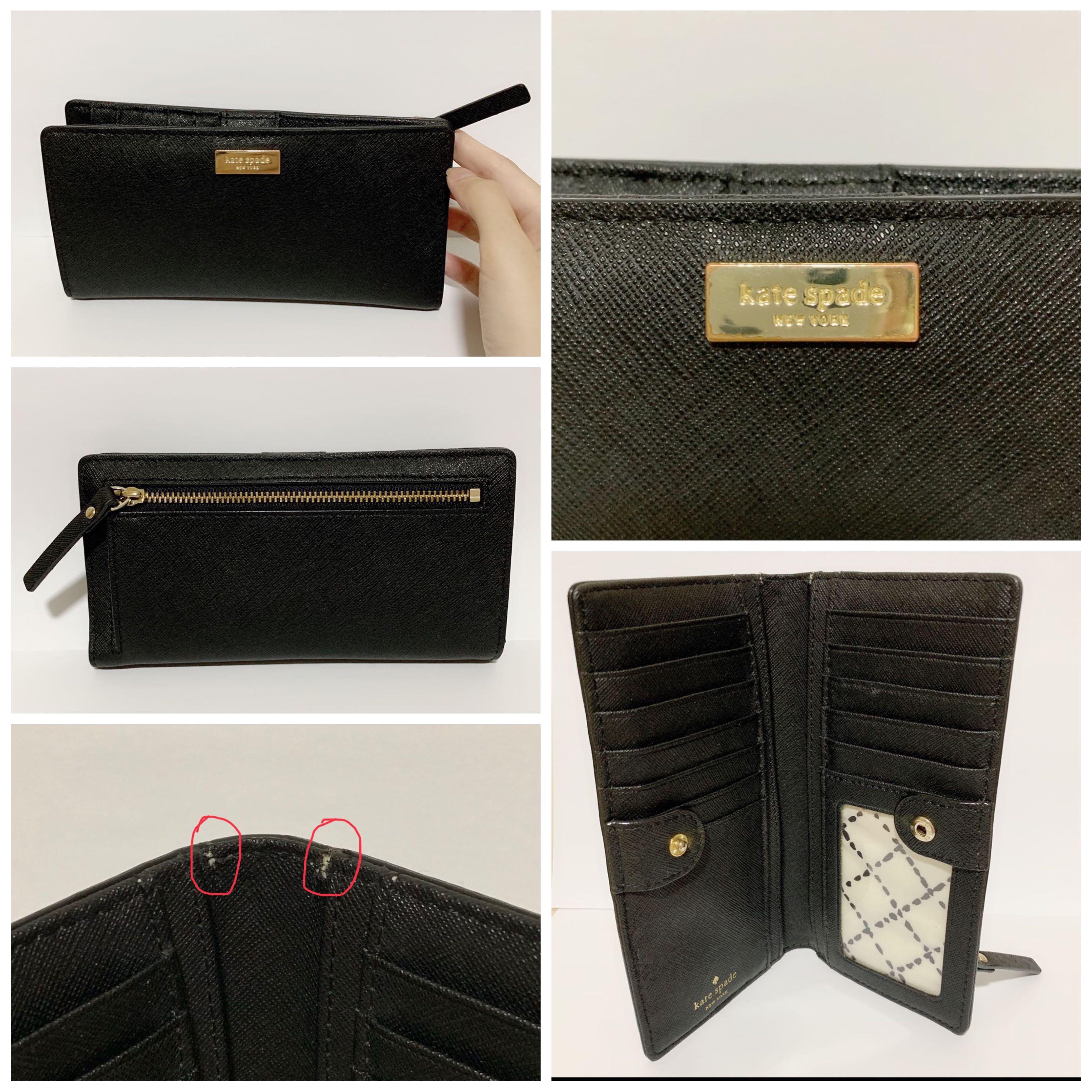 70fe8ebb5340 Kate Spade Long Wallet, Luxury, Bags & Wallets, Wallets on Carousell
