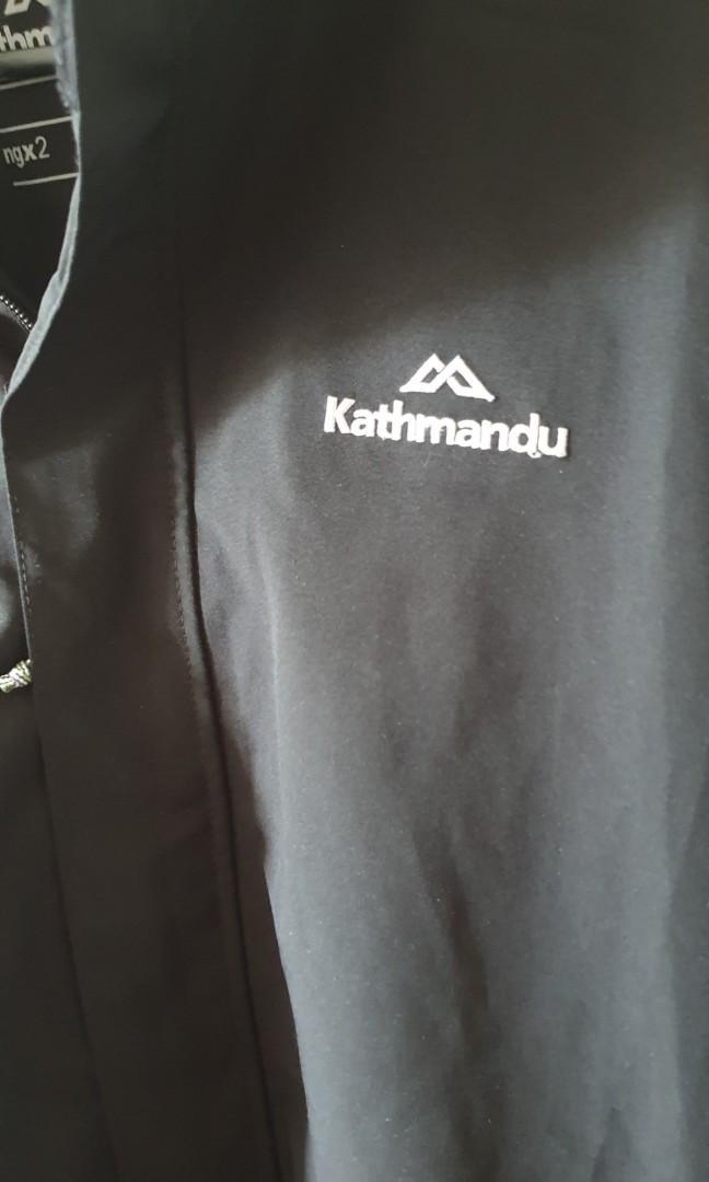 Kathmandu Andulo Waterproof black jacket men's size L