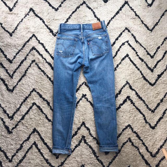 Levi 501 Skinny Jeans w26