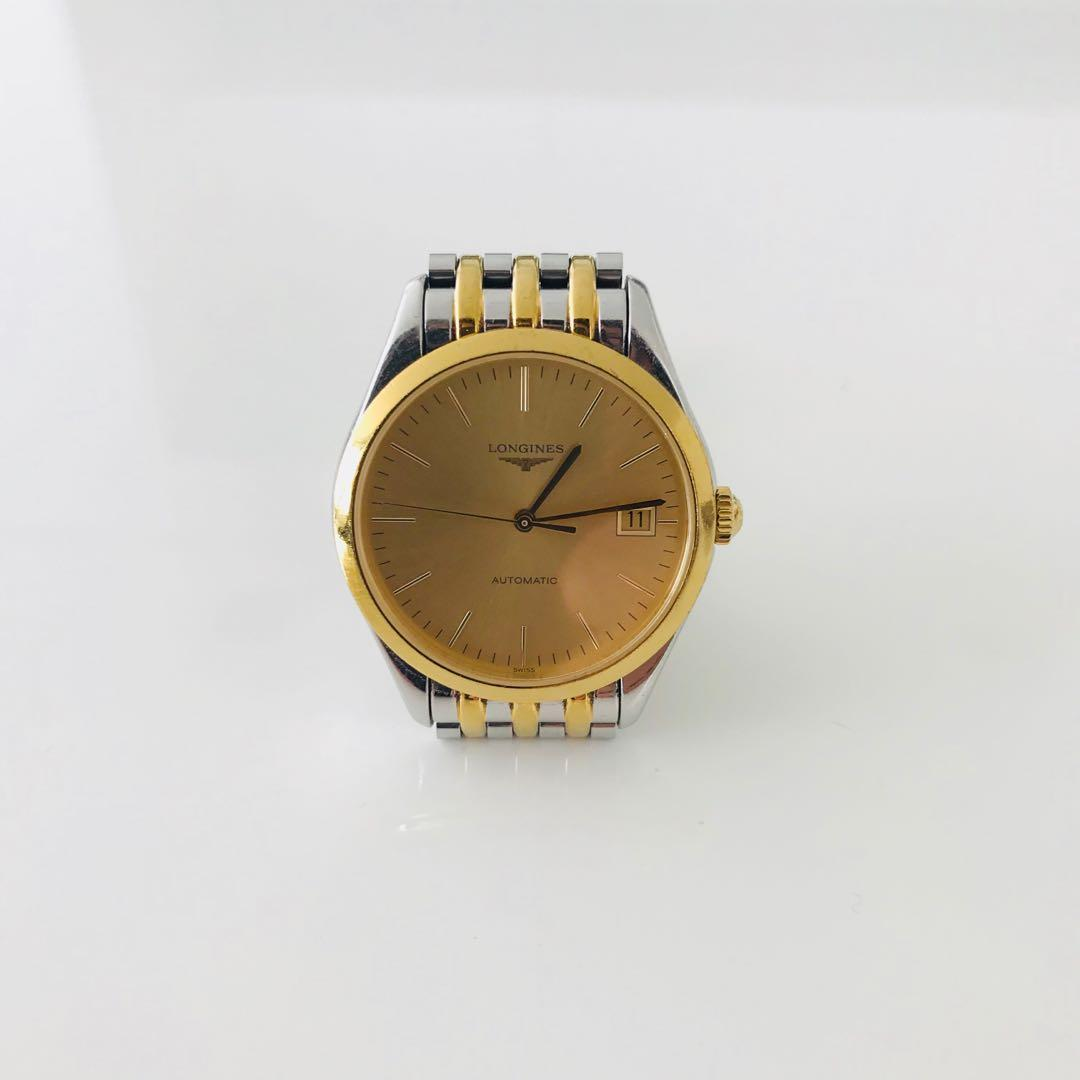 Longines Two Tone Automatic Watch