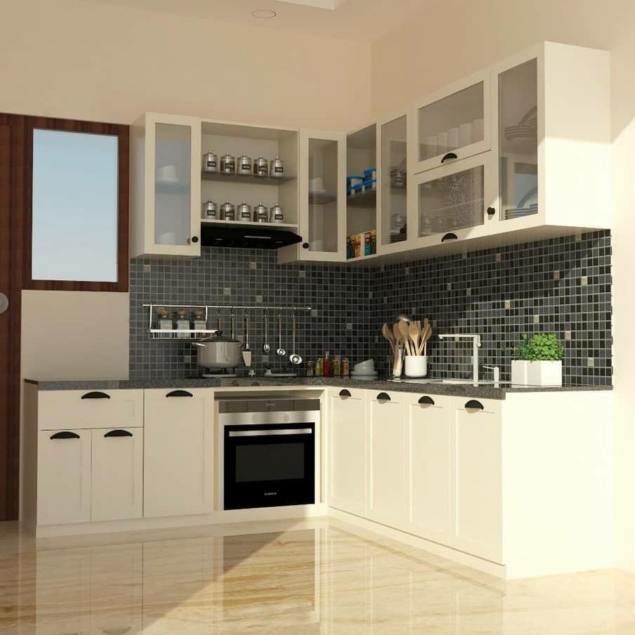 Luxury Kitchen Set Aluminium Home Furniture On Carousell