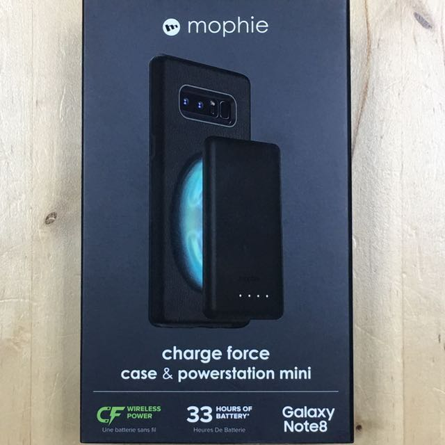 best service cfdf7 18480 Mophie Charge Force Case & Powerstation mini Galaxy Note 8