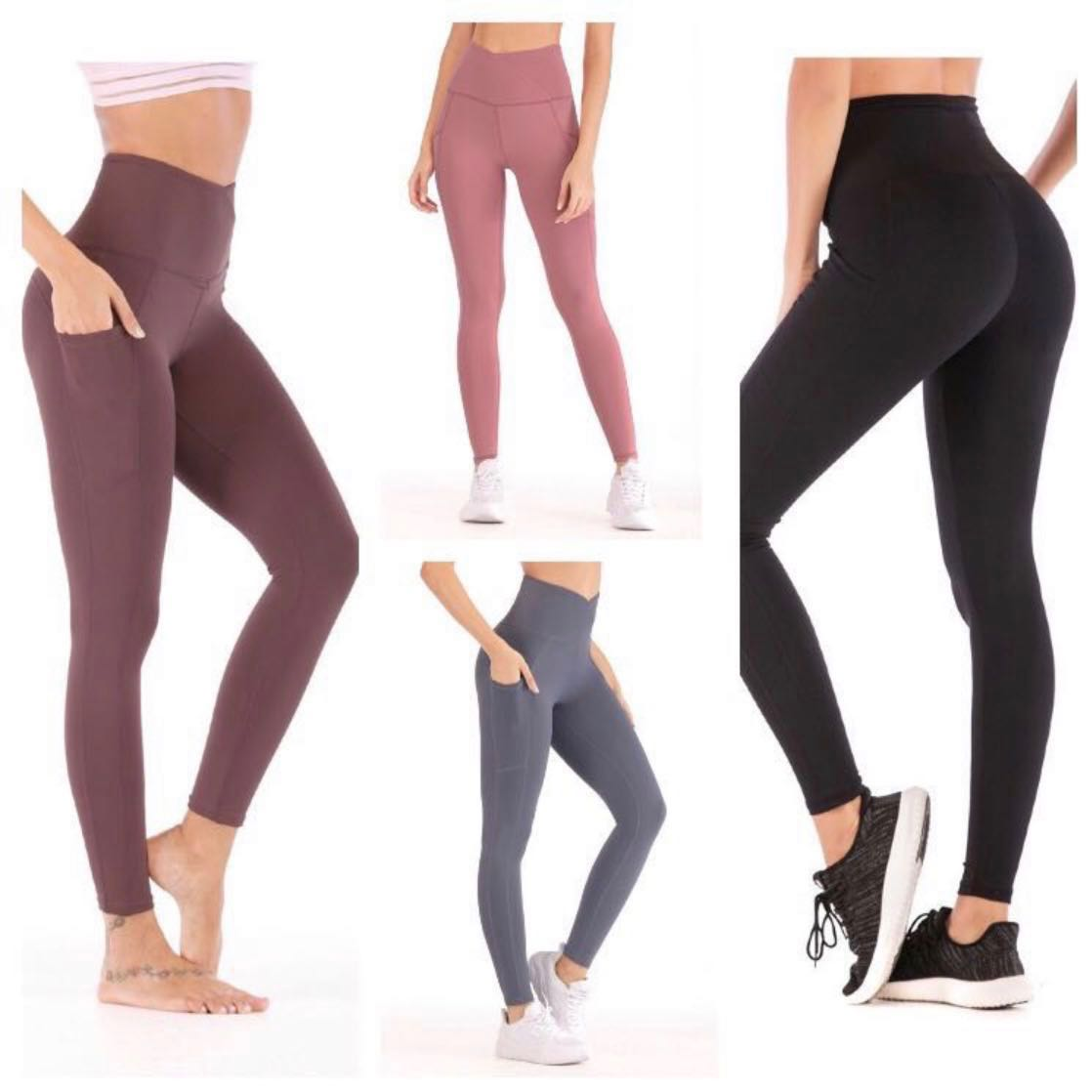 0dd579ff93623 MW: High Crossover Sports Leggings, Sports, Sports Apparel on Carousell