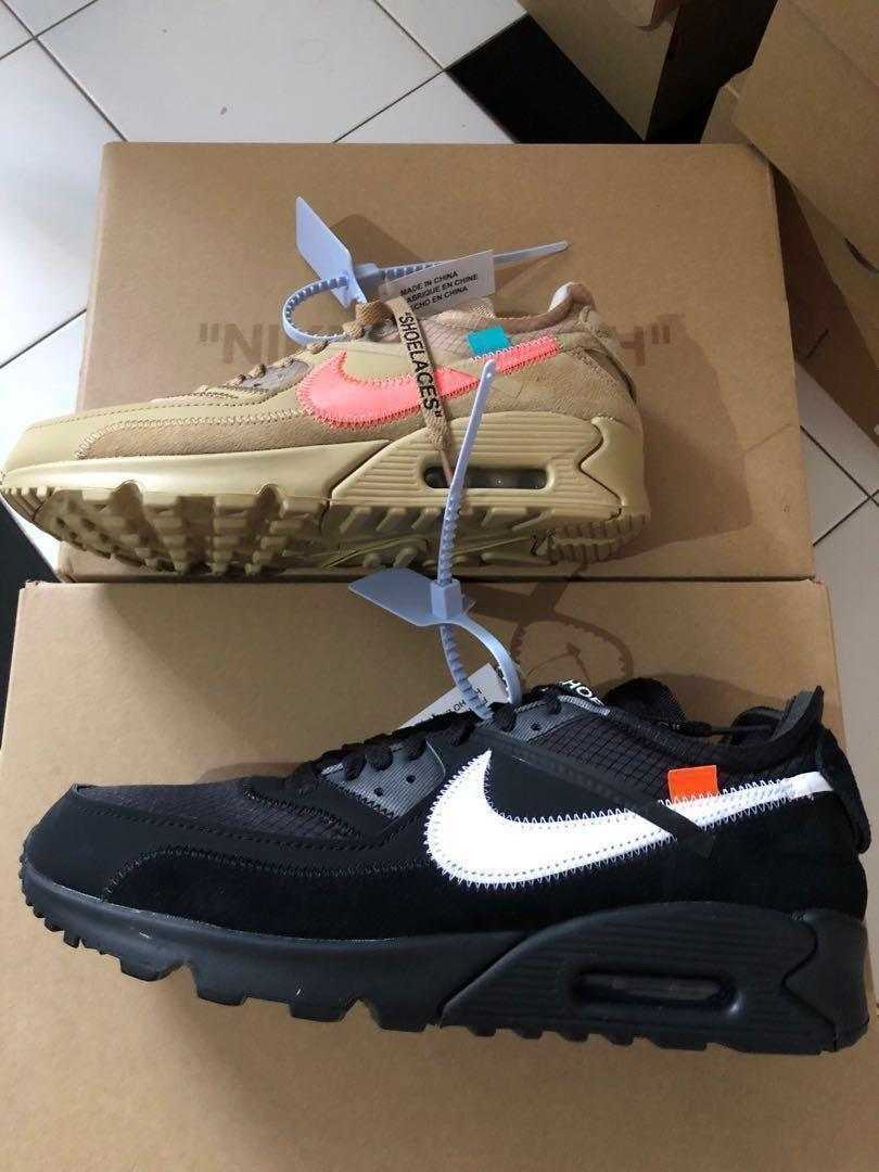 Nike x Off White Air Max 90 (Multiple Sizes), Men's Fashion