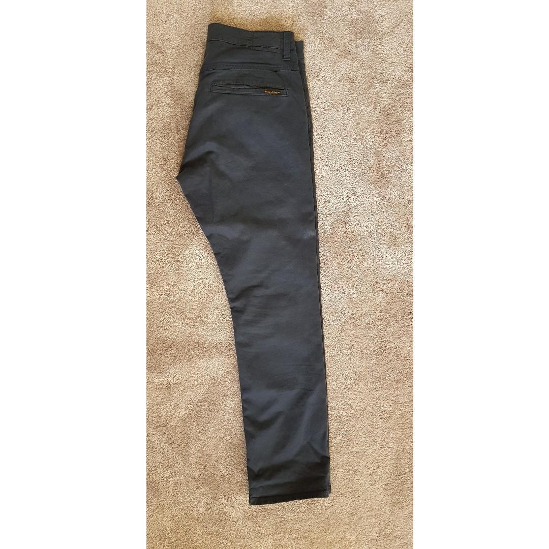 Nudie Jeans - Slim Adam Pants, Dark Midnight (W33, L30)