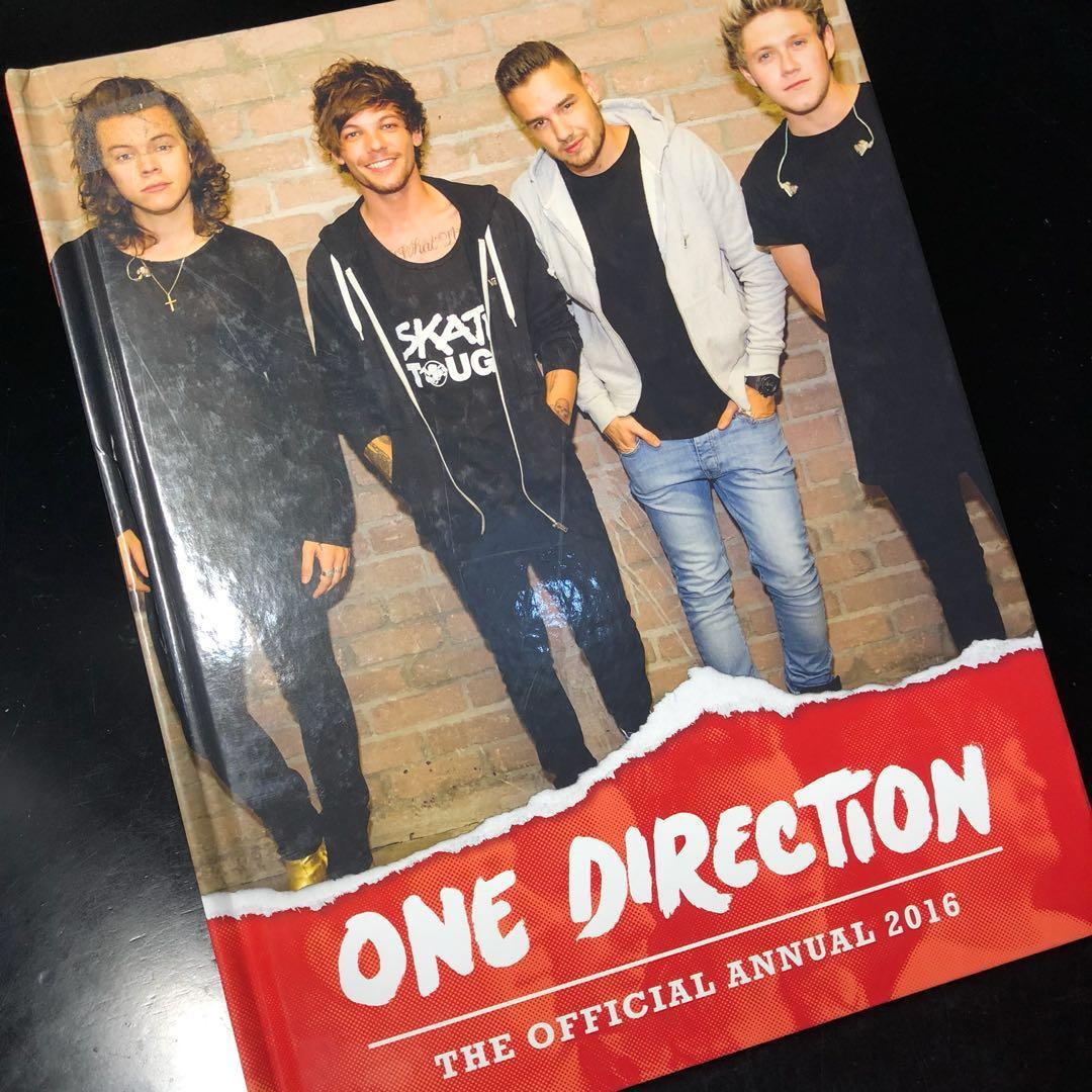 One Direction The Official Annual Book 2016
