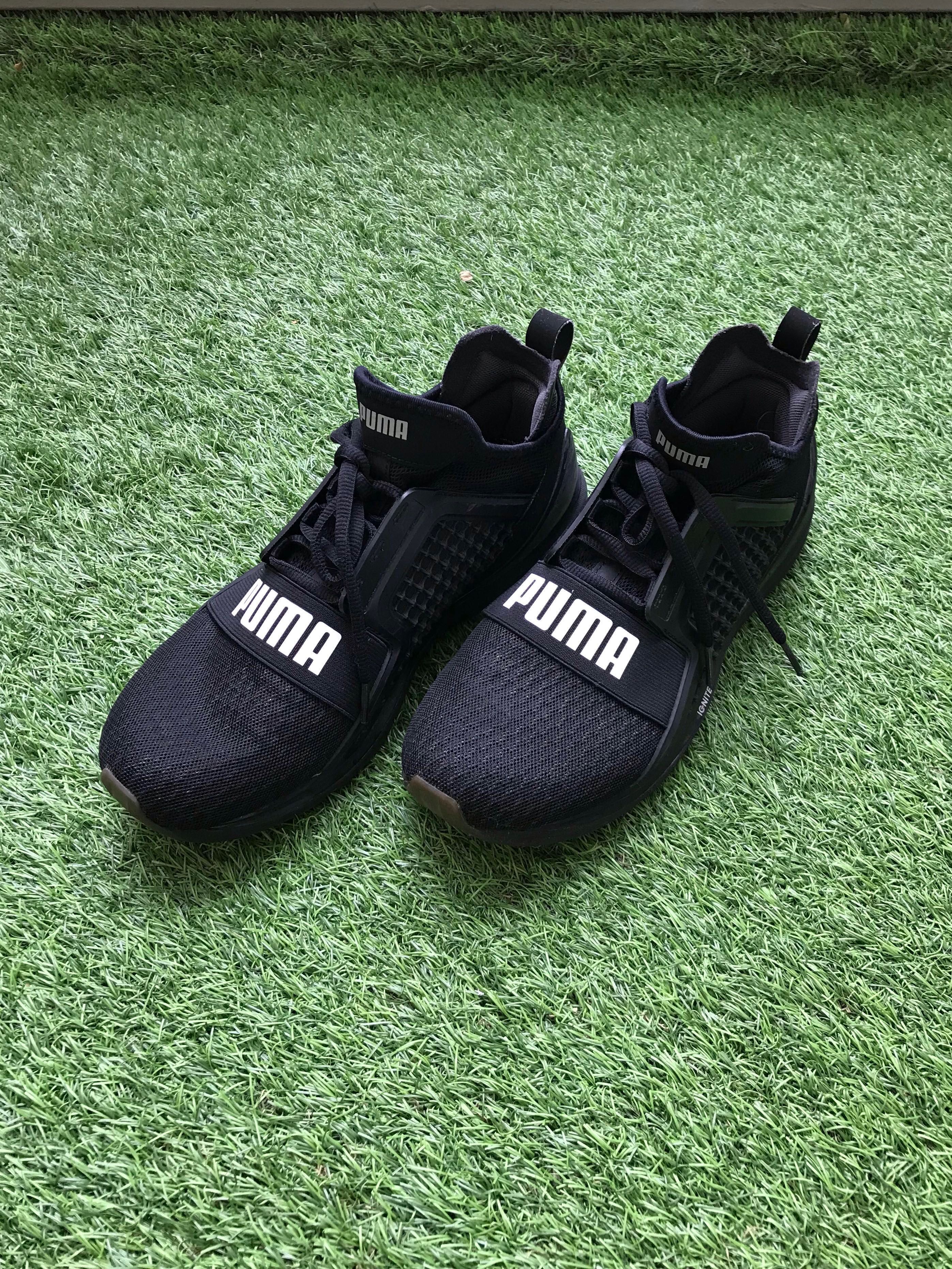 online retailer 6d1d9 71acc Puma Mens IGNITE Limitless Black