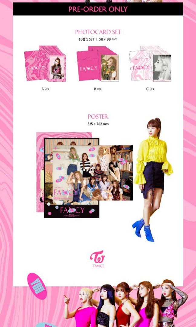 [Road to 200 albums] Twice Fancy You Group Order