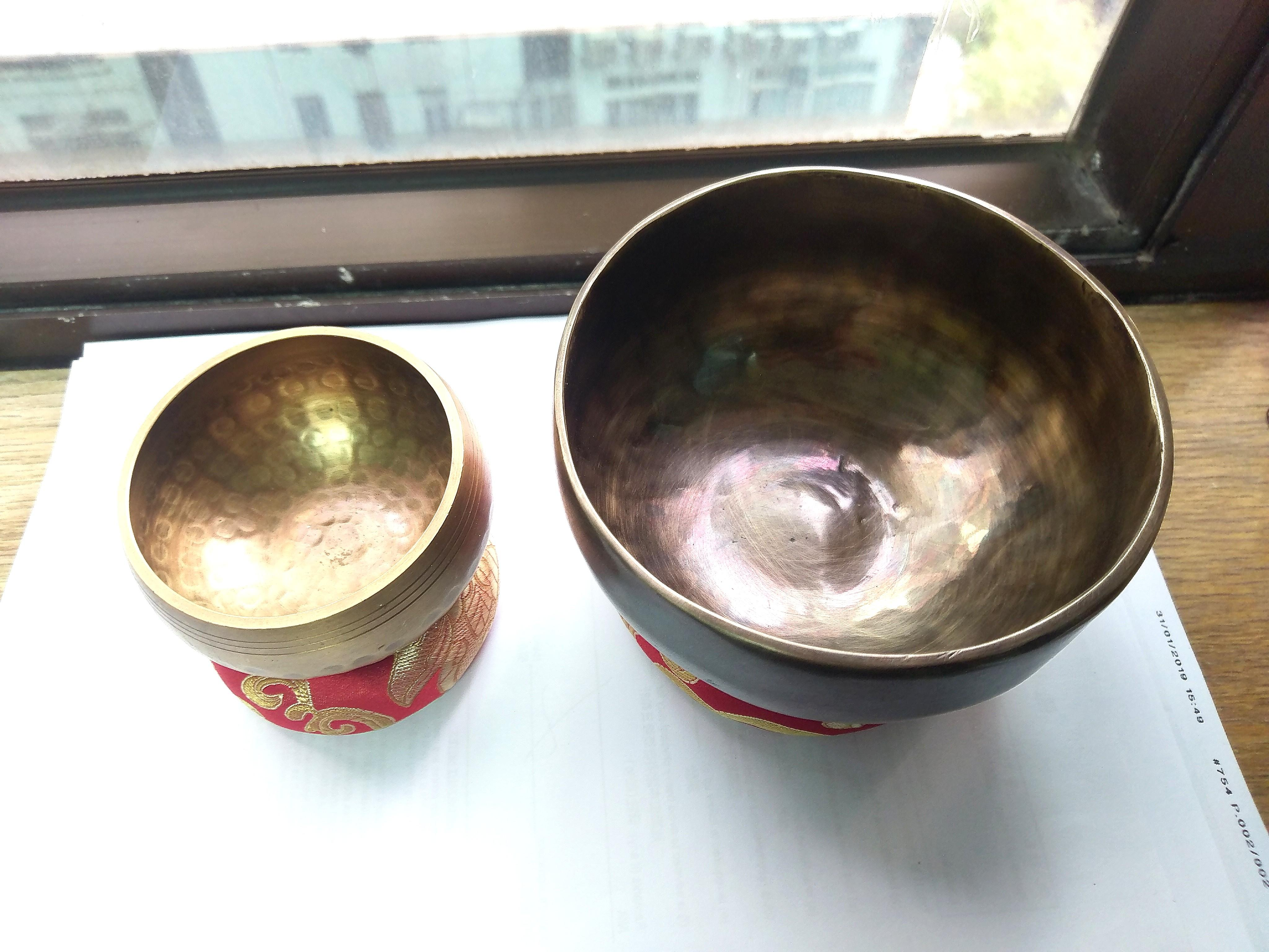 西藏尼泊爾手工頌缽/聲療缽singing bowl(純銅款訂制)