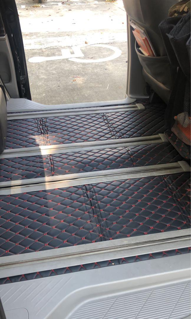 Toyota estima car floor mat