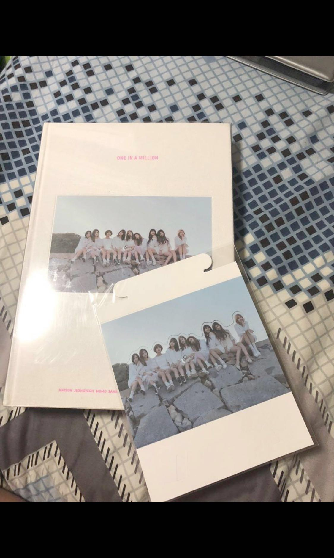 Twice One In A Million Photobook Entertainment K Wave On Carousell