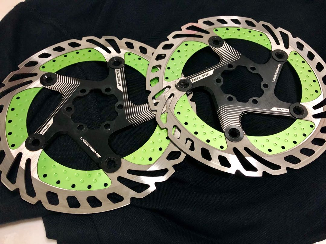 031e0f5286c Uberbike Components brake rotors 180mm, Bicycles & PMDs, Bicycles ...