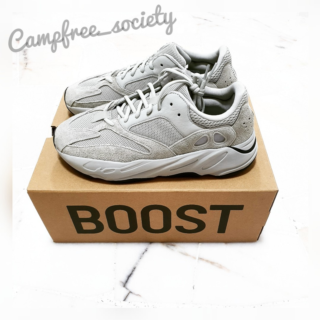 official photos d179e a6fff US 10.5 - Adidas Yeezy 700 Salt