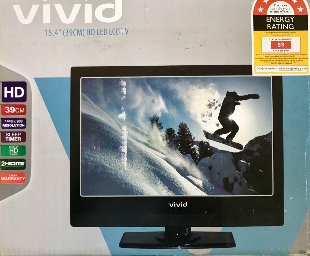 "Vivid 15 4"" tv new in box hdmi, Electronics, TVs & Entertainment"