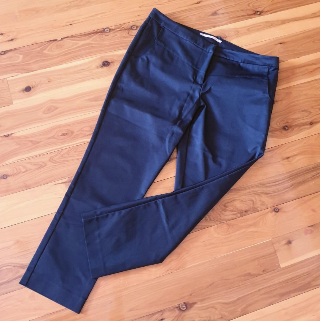 Women's size 14 'COOPER ST' Stunning black ankle length pants- AS NEW