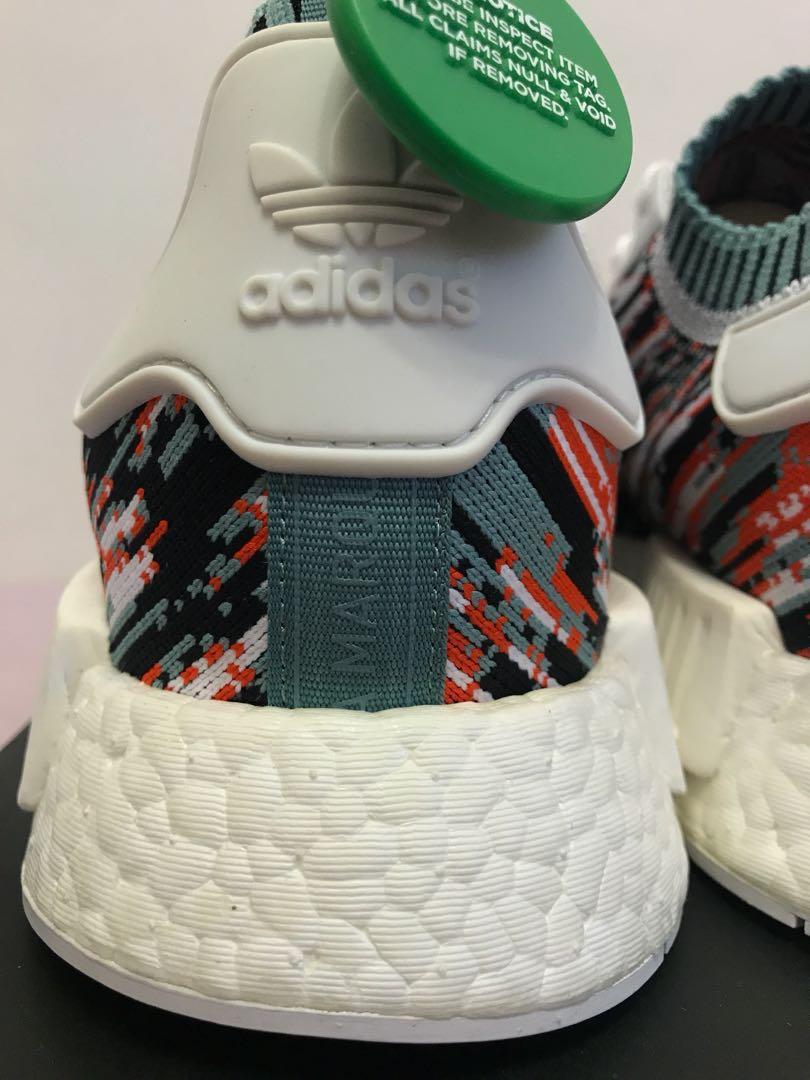 948d761f32fa4 WTS BNDS Adidas Originals NMD R1 Primeknit Pk Gucci Glitch Datamosh SNS  US11 UK10.5
