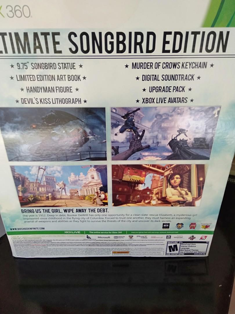 Xbox 360 Ultimate songbird Edition