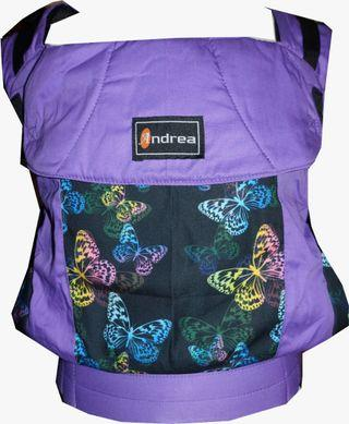 #CLEARANCE [TODDLER] Andrea Baby Carrier - Purple Butterfly ($75)