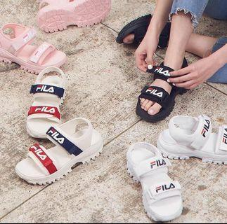 2019 Fila 涼鞋