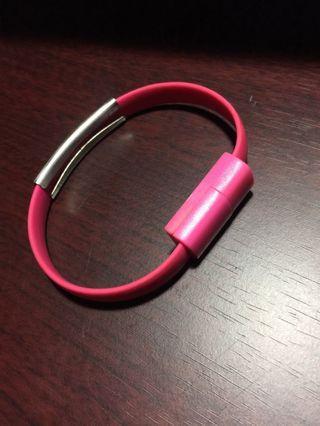 🚚 安卓手環USB(桃紅)