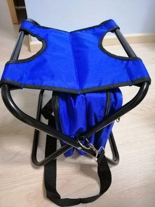 Picnic thermal bag and stool