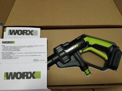 Worx洗車水槍雙電快叉版