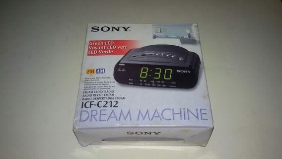 🆕SONY Fm/Am Clock Radio