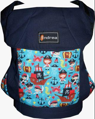 #CLEARANCE [TODDLER] Andrea Baby Carrier - Navy Pirates ($75)