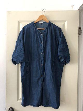 Oak and Fort Denim Jacket/Dress