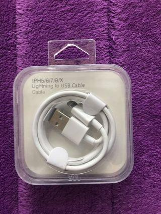 IPH5/6/7/8/X Lightning Charging Cable