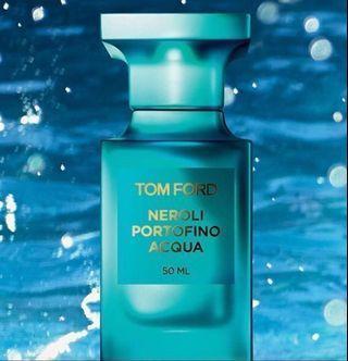 TOM FORD 地中海系列清新橙花淡香水 Neroli Portofino Acqua EDT 50ml 專櫃要價6200元