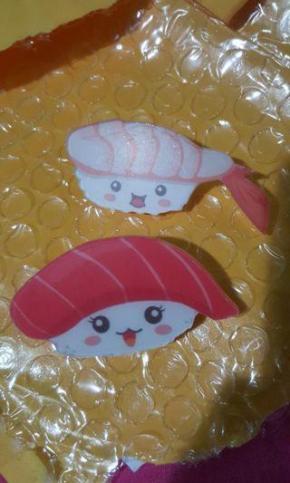 Sushi badges