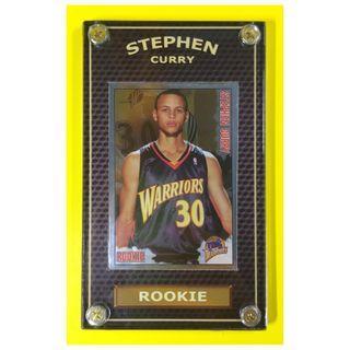 HOT - Stephen Curry 2009-10 Sticker Rookie Basketball Card