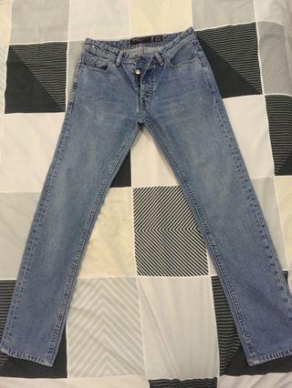 Bershka Blue Denim Jeans