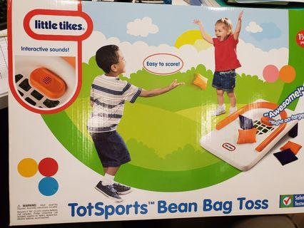 New Little tikes Totsports bean bag toss Toy