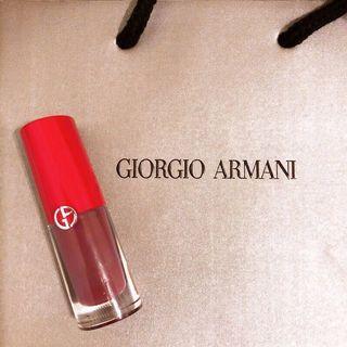 🚚 #近全新 僅試色‼️George Armani訂製霧面唇釉601 小胖瓶