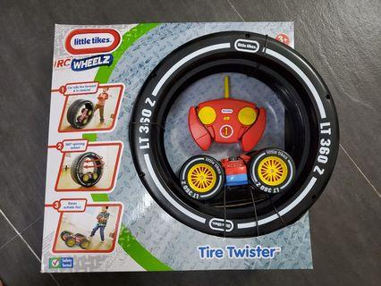 New Little tikes remote control car tire twister wheels