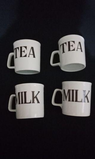 4 pieces Mug Set
