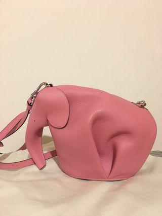 Loewe Elephant Mini Bag Candy 大象包