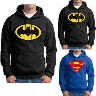 Batman & Superman Comfortable Pullover (Dimple Loves Batman)