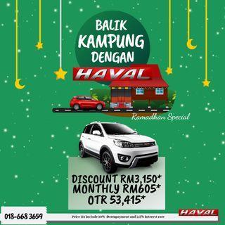 HAVAL RAYA PROMOTION H1
