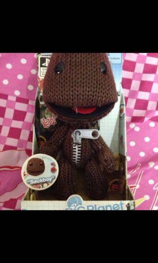 Little Big Planet Sackboy Plush Figure PlayStation Official Merchandise