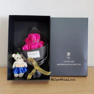 BN 7 Soap Roses Bouquet Giftbox