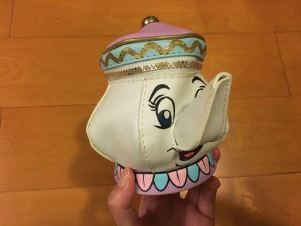 Disney Beauty and the Beast 茶壺太太袋
