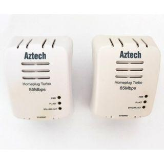 A pair of 85mbps aztech homeplugs for $8